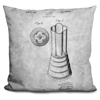 Caudle Cocktail Mixer Print Throw Pillow
