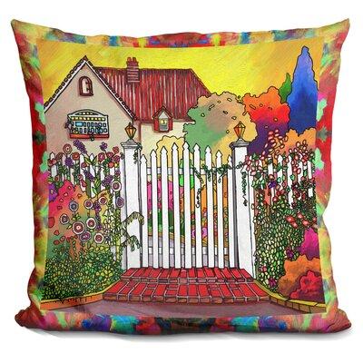 Deco Cottage Throw Pillow