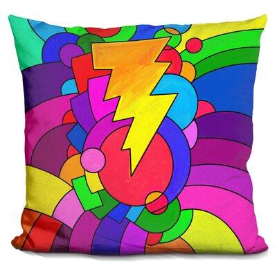 Lightening Bolt Throw Pillow