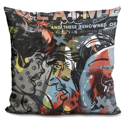 Kali Acclaimed Throw Pillow