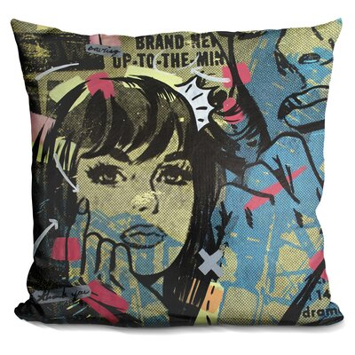 New Dramatic Throw Pillow