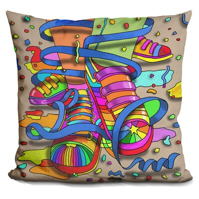 Footloose Throw Pillow