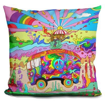 Magic Bus Throw Pillow