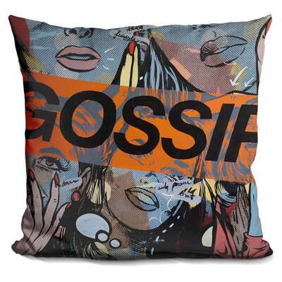 Gossiping Throw Pillow