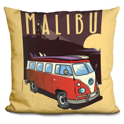 Malibu Throw Pillow