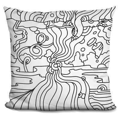 Mambo B Throw Pillow
