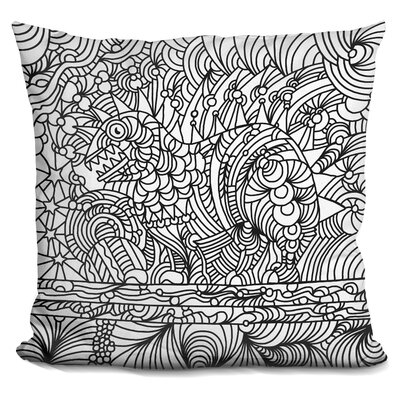Phinn Monster Throw Pillow