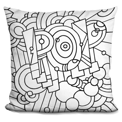 Pop Word Throw Pillow