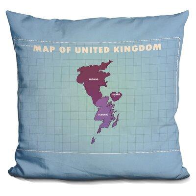 Sinnott Upside Down United Kingdom Throw Pillow