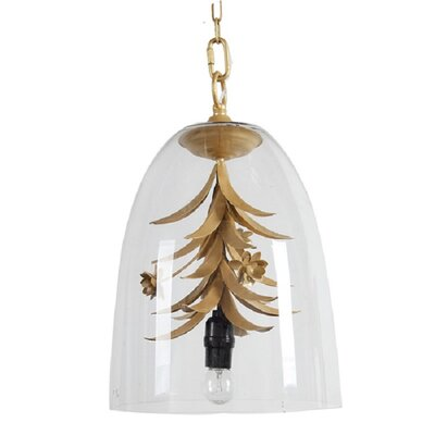 Paloma Floral 1-Light Inverted Pendant