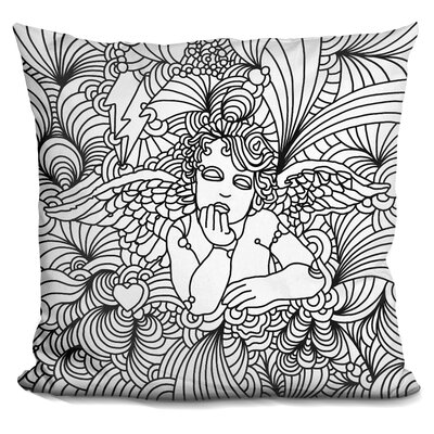 Puti 116 Throw Pillow