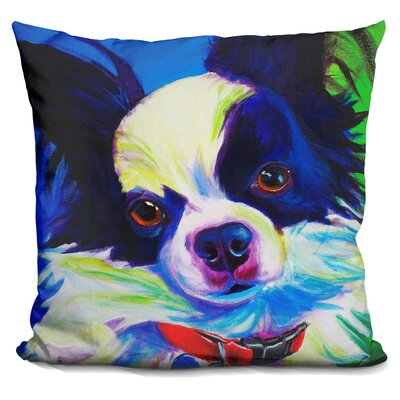 Esso Gomez Throw Pillow