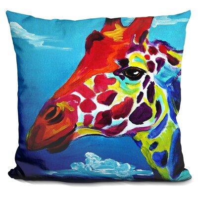 Giraffe Throw Pillow