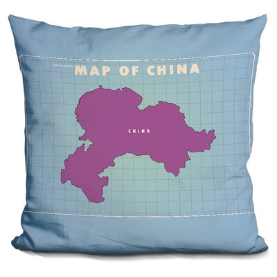 Sinope Upside Down China Throw Pillow