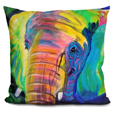 Pachyderm Throw Pillow