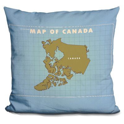 Sison Upside Down Canada Throw Pillow