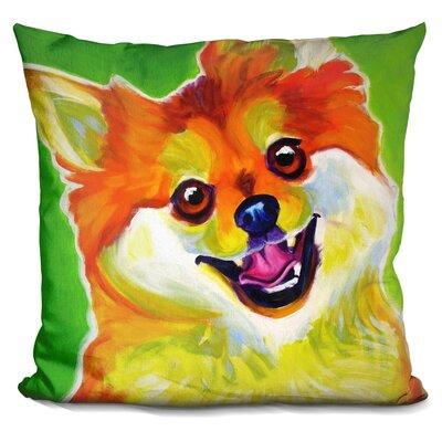 Pomeranian Tiger Throw Pillow