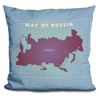 Sisto Upside Down Russia Throw Pillow