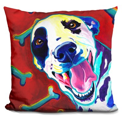 Yum Throw Pillow