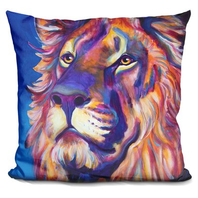 Lion Cecil Throw Pillow