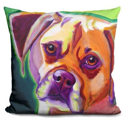 Puggle Cooper Throw Pillow
