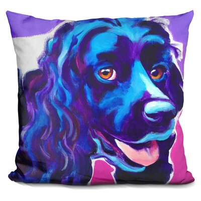 Cocker Spaniel Dixie Throw Pillow