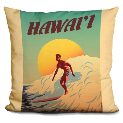 Cambra Hawaii Throw Pillow