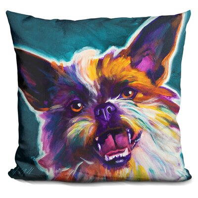 Brussels Griffon Spicey Throw Pillow