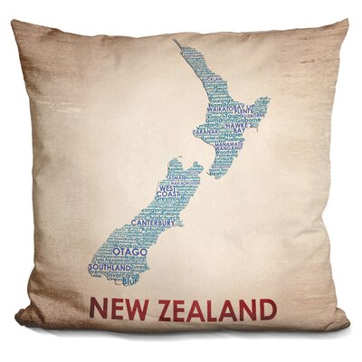 Geno New Zealand Throw Pillow