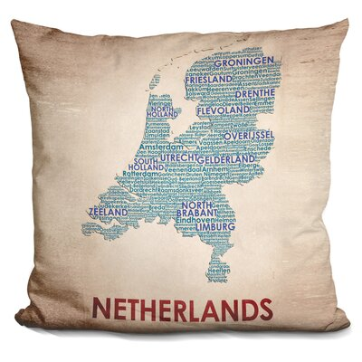 Barras Netherlands Throw Pillow