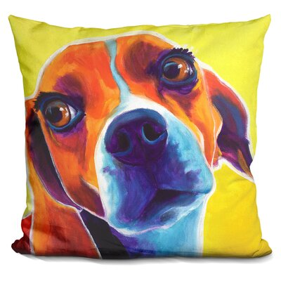 Coria Beagle Marcie Throw Pillow