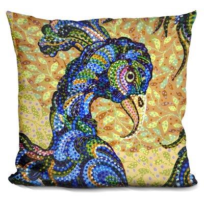 Peacockhead Throw Pillow