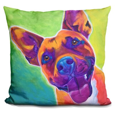 Pit Bull Billy Throw Pillow