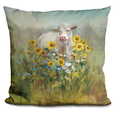 Lovin Farm and Field Throw Pillow
