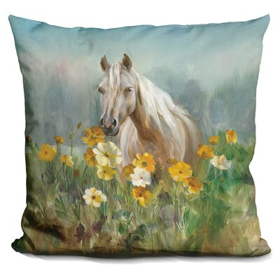 Lovin Farm and Field Throw Pillow