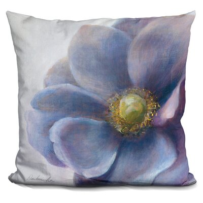 Matteson Contemporary Anemone Throw Pillow