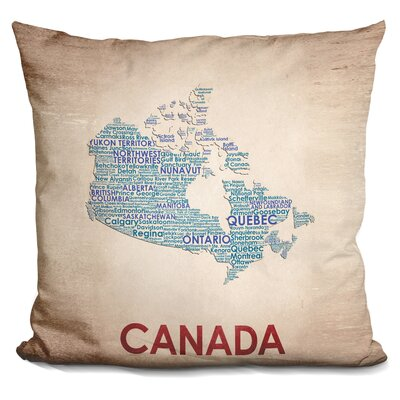 Gengler Canada Throw Pillow