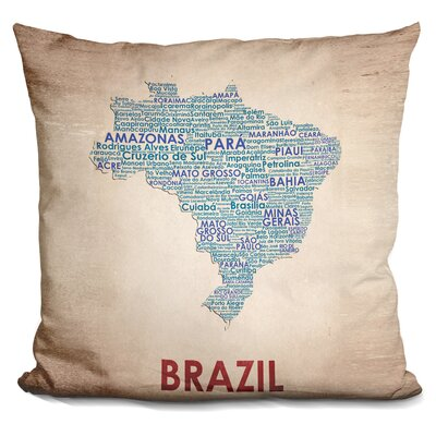 Gephart Brazil Throw Pillow