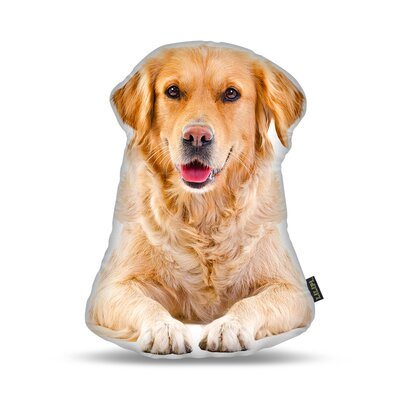 En Retriever Throw Pillow