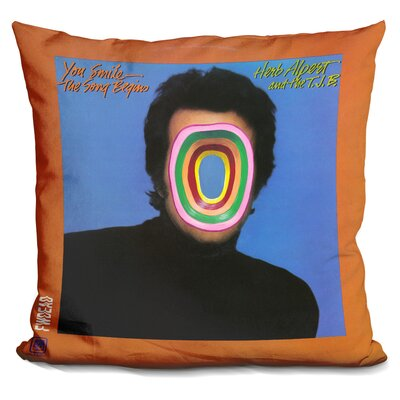 You Smile The Story Begins Throw Pillow