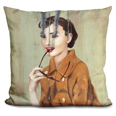 Corlett Audrey Hepburn Throw Pillow