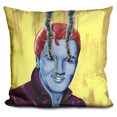 Elvis Throw Pillow