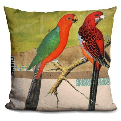 Totterdell Birds Throw Pillow