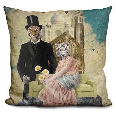 The Eyes of The Tiger Throw Pillow