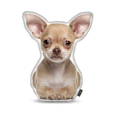 Chihuahua Fawn Throw Pillow