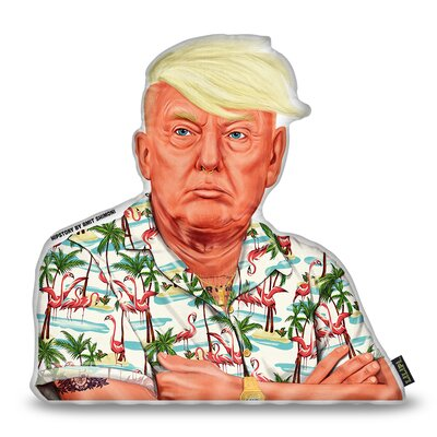 Trump Shaped Throw Pillow