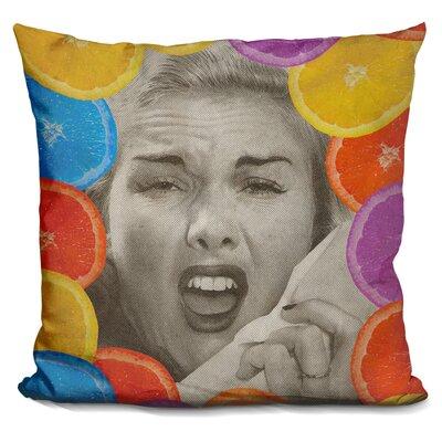 Citrus Muss Throw Pillow