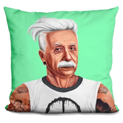 Einstein Throw Pillow