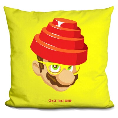 Crack That Whip Throw Pillow