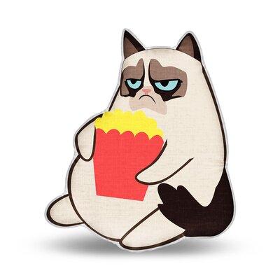 I DonT Share Grumpy Cat Throw Pillow